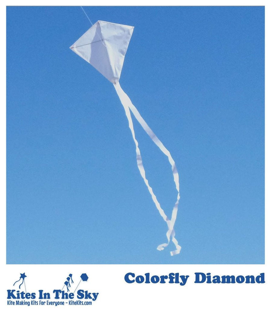 Colorfly Diamond Kite Kit
