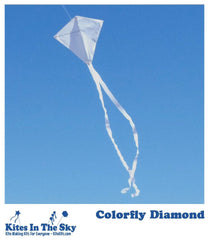 Colorfly Diamond Kite Kit - Kites In The Sky