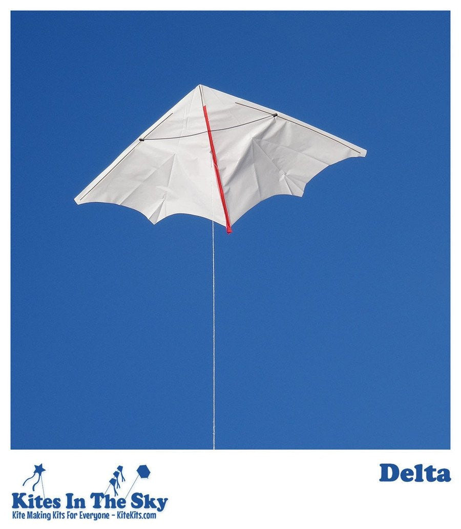 Ready To Fly Kite Kit - Delta Kite Kit (10 Pk)