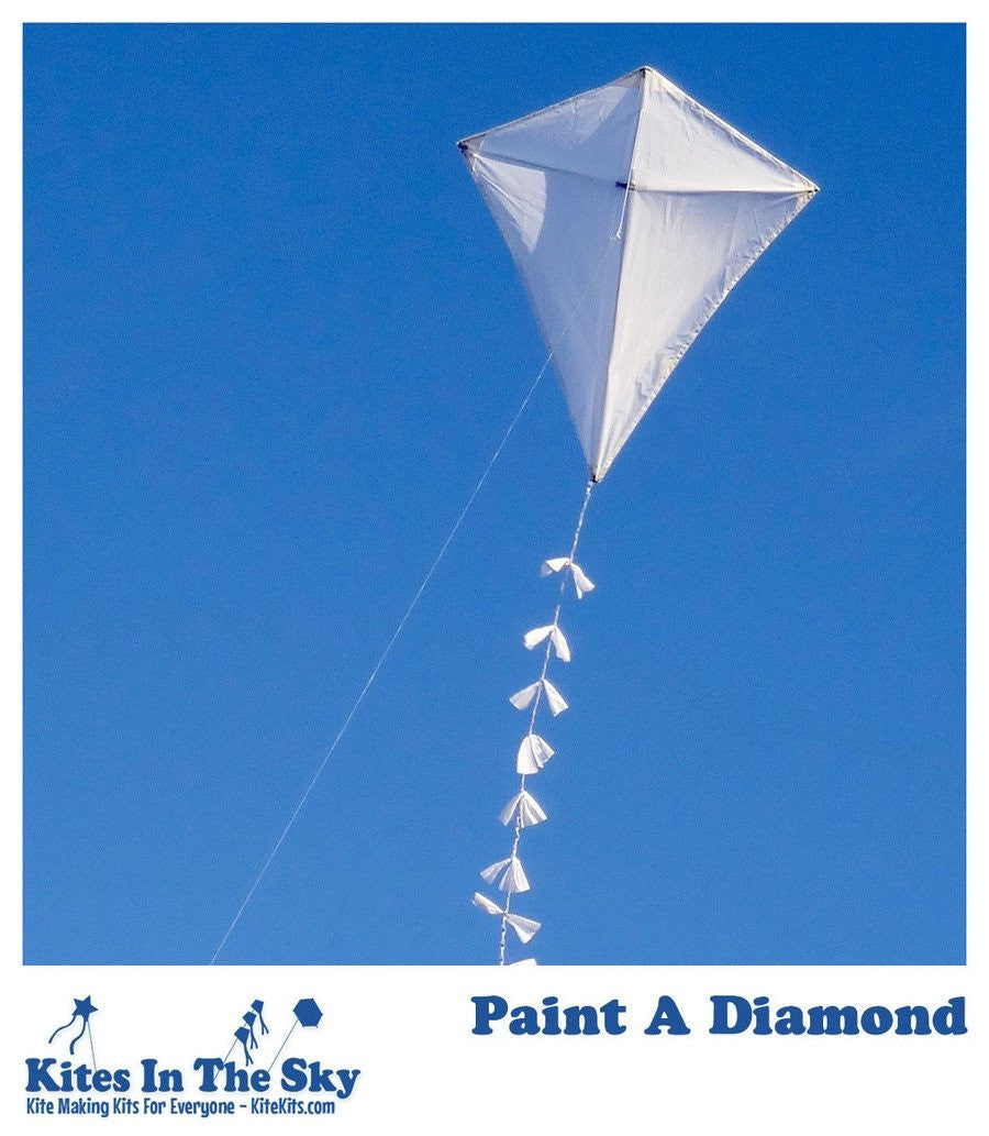 with sport toys children handle accessories fun good arrive item and diamond flying for kites kite outdoor line gift in from new rhombus magical