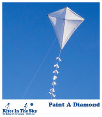 Paint a Diamond Kite Kit - Kites In The Sky