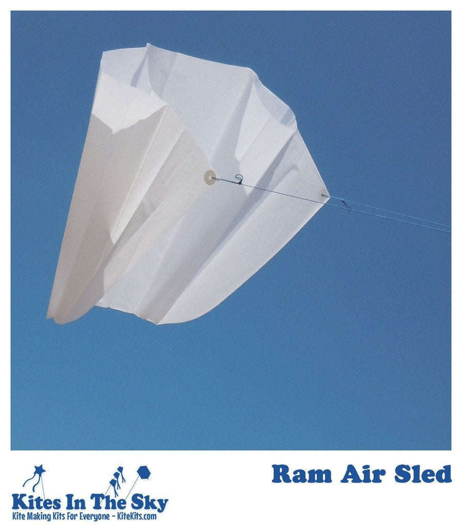 Ready To Fly Kite Kit - Ram Air Sled Kite Kit (10 Pk)
