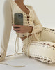 Wynn Laced Up Cream Off White Long Sleeve Off White Top Nude Beige Fashion Streetwear Bustier Top