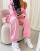Terra Pink Cuffed Sweatpants
