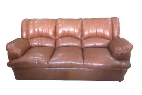 Metope Three Seater Leather Sofa