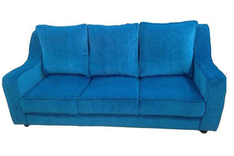 Delphin Three Seater Fabric Sofa