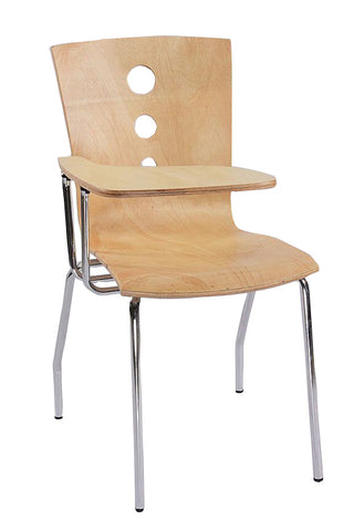 Pine Wood Chicago Study Chair - FabX