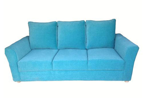 Medusa Three Seater Fabric Sofa