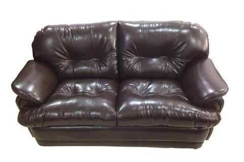 Minos Two Seater Leather Sofa