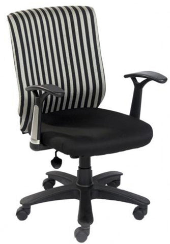 Decima Executive Zebra Office Chair - FabX