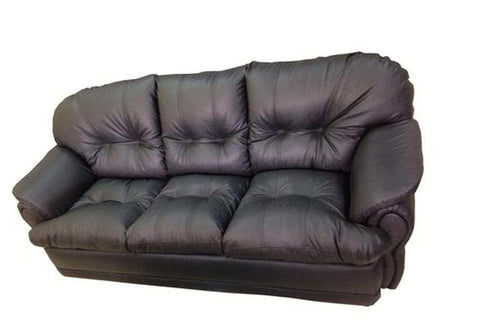 Eosphorus Three Seater Leather Sofa