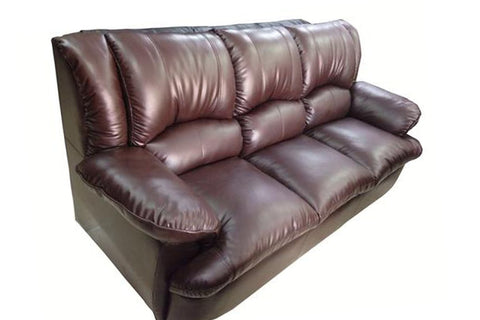 Triton Three Seater Leather Sofa