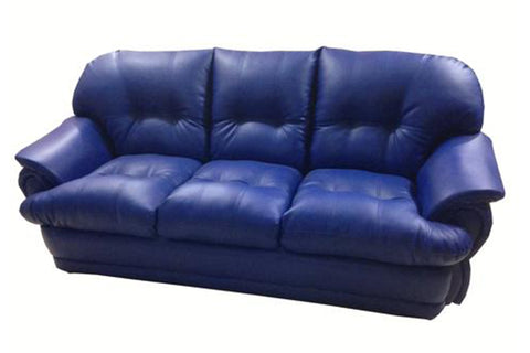 Ladon Three Seater Leather Sofa