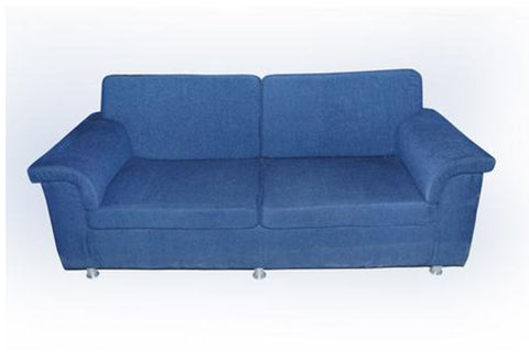 Gratiae Three Seater Fabric Sofa - FabX - 1