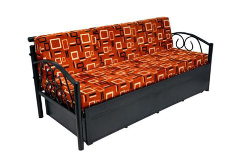 Leo Metal Sofa cum Bed