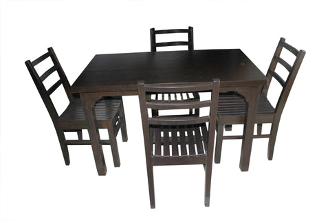 Bacchus Dining Table Set - FabX - 1