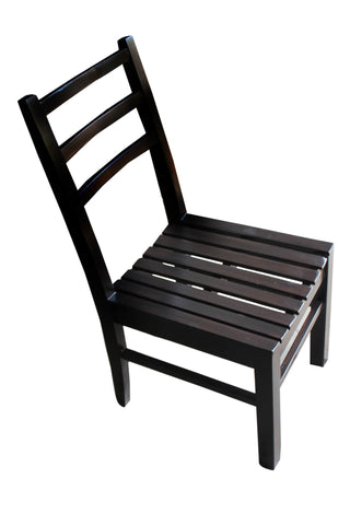Pudicitia Teak Wood Chair - FabX - 1