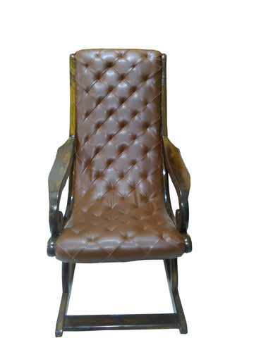 Trumeau Rocking Chair with cushion - FabX - 1