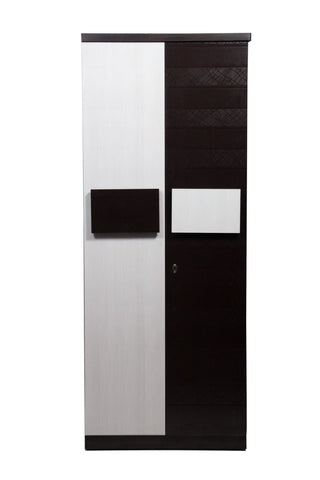 Parga Double Door Wardrobe - FabX - 1
