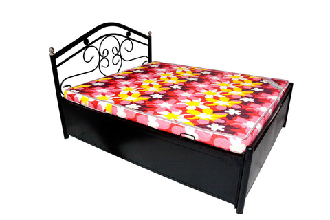 Crux Metal Bed with storage - FabX