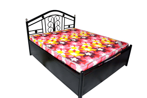 Canis Metal Bed with storage - FabX - 1