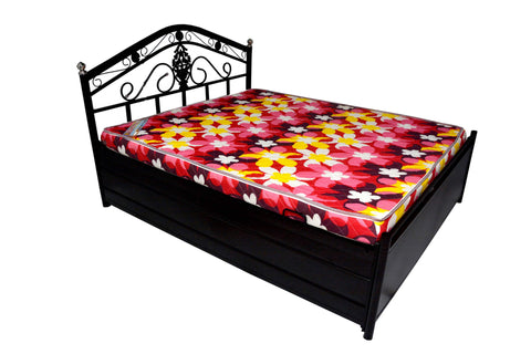 Eri Metal Bed with storage - FabX