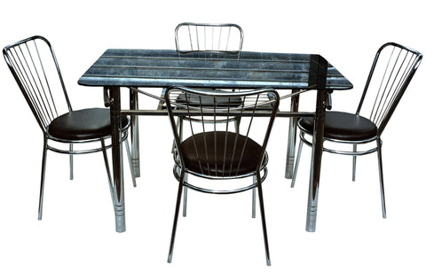 Atlas Dining Table Set - FabX