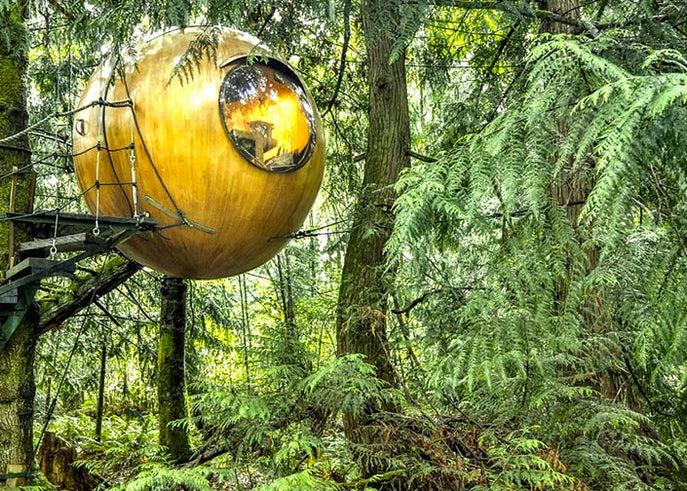 Bizarre Bedrooms: Free Spirit Spheres