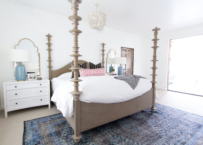 Tranquil Bedroom Makeover by Becki Owens