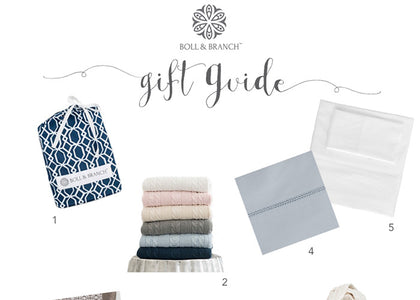 The Boll & Branch Holiday 2015 Gift Guide