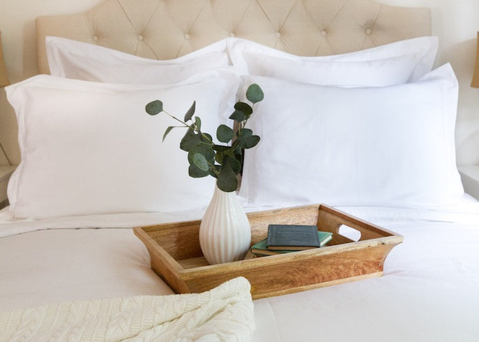 All-White Bedroom Idea: Mornings Should Always Look This Good