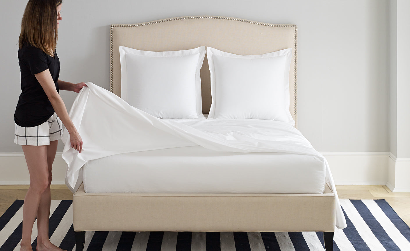 Superior The Boll U0026 Branch Flat Sheet, Also Called The Top Sheet, Is Placed On Top  Of The Fitted Sheet, And In Between Yourself And Your Blanket Or Duvet  Cover.
