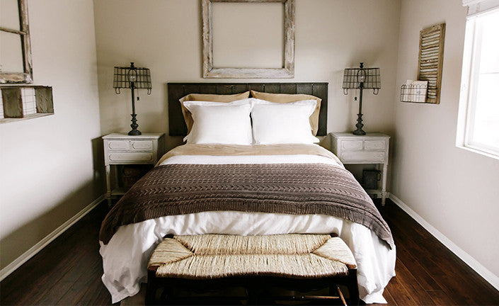 an earth tones palette for your bedroom boll branch