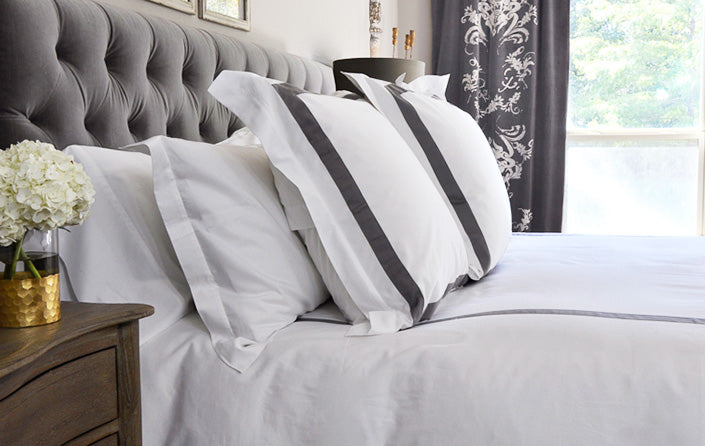 Luxury Designer Bed Sheets and Pillows