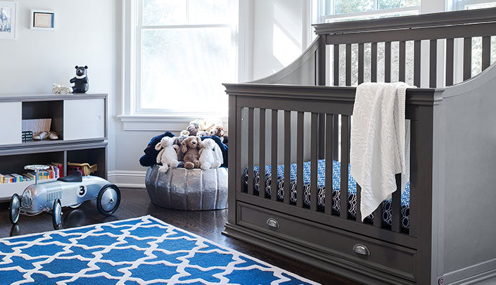 Gender Neutral Nursery Design Using Cotton Sheets