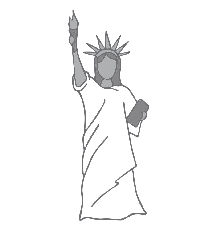 Use Old Bed Sheets as a Lady Liberty Costume for Halloween