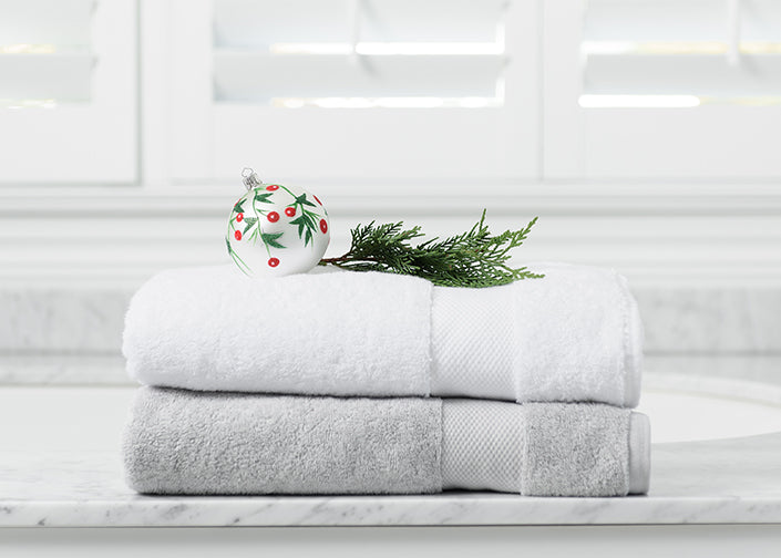 Luxury Organic Cotton Designer Bath Towels