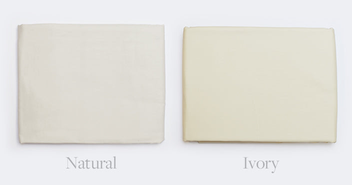 Natural vs Ivory ColorDifferences in Off White ColorsBoll Branch