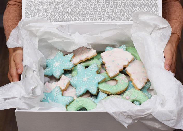 Holiday Cookies in the Boll & Branch Signature Box