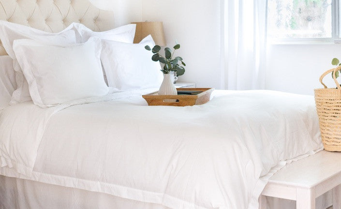 Luxury Organic Cotton Bedding for Bedroom Inspiration