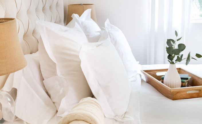 Luxury Organic Cotton Pillowcases and Shams
