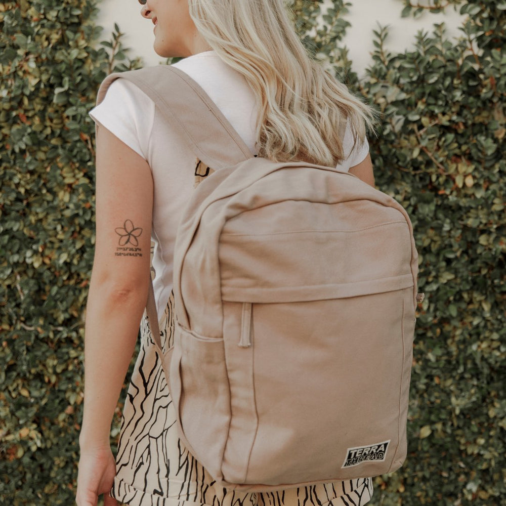 TERRA THREAD SUSTAINABLE BACKPACK