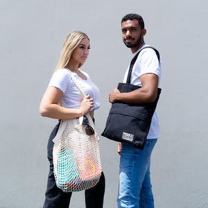 Organic Cotton Tote & Mesh Bags