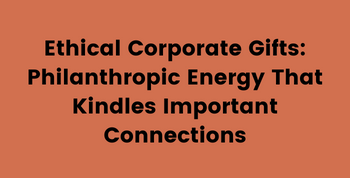 Ethical Corporate Gifts Eco Holiday