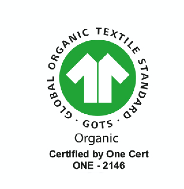 GOTS Certified Logo - Terra Thread Collection
