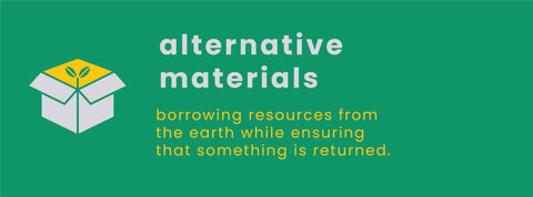 Alternative and Sustainable Materials