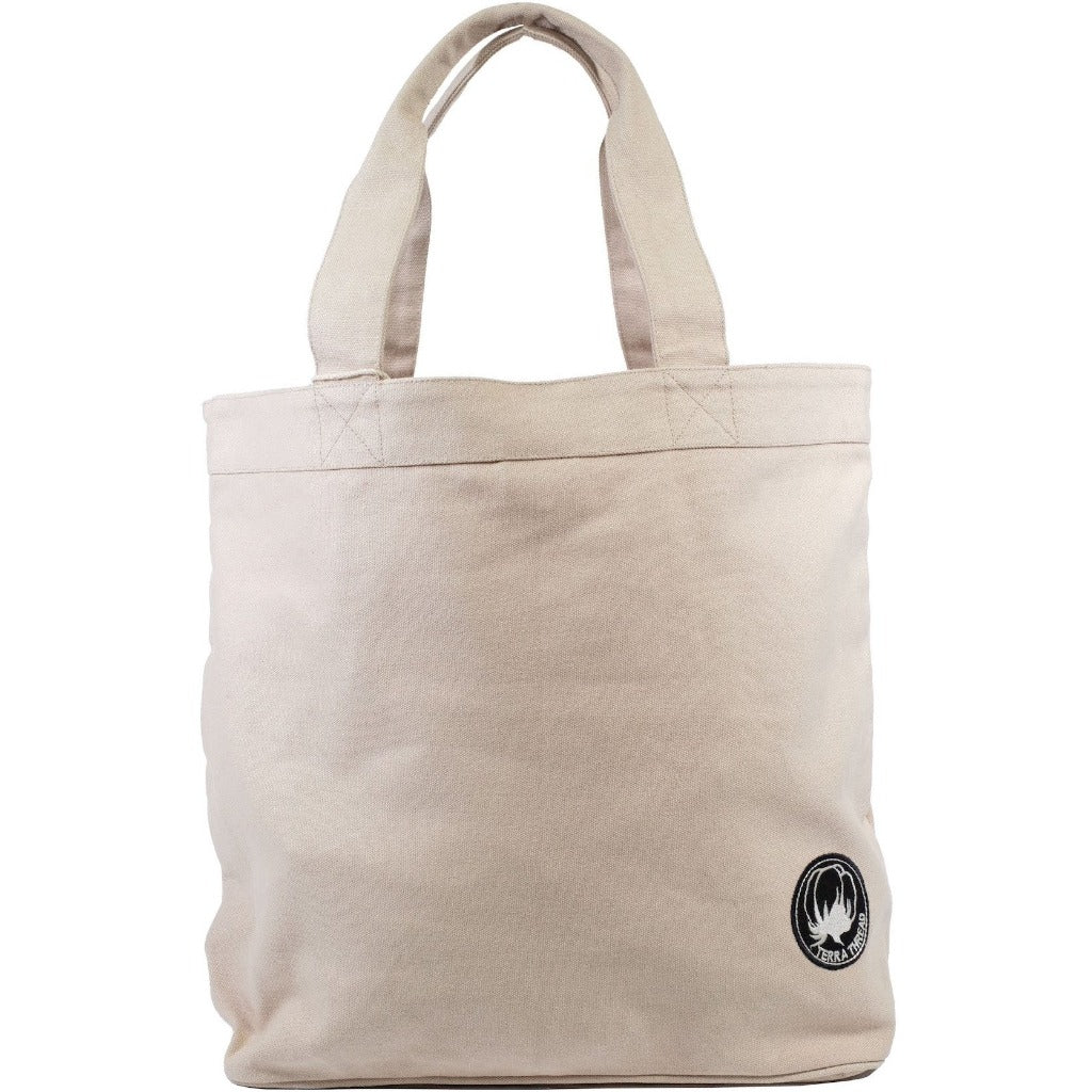 Inexpensive gift for employee Beige Colored Tote Bags