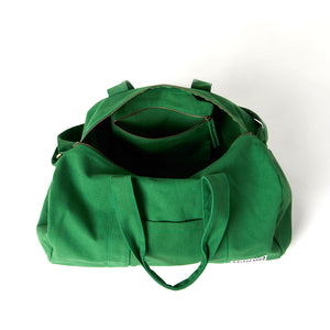 Load image into Gallery viewer, vegan workout bag green color