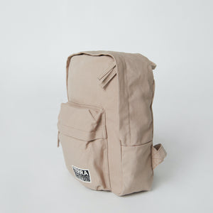 side view of ethical backpack