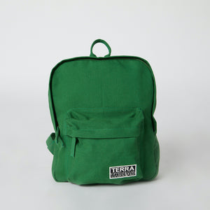 green backpacks
